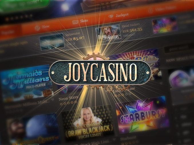 joycasino как выиграть