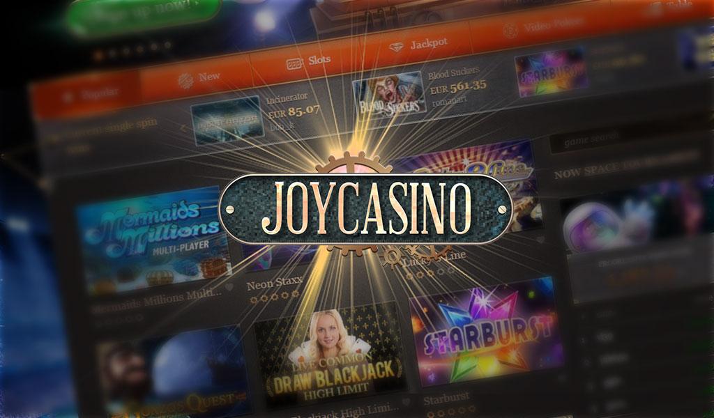 joy казино официальный сайт