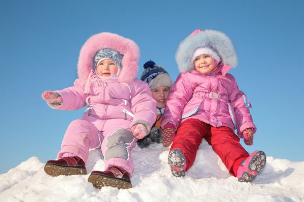 детские зимние вещи до года купить
