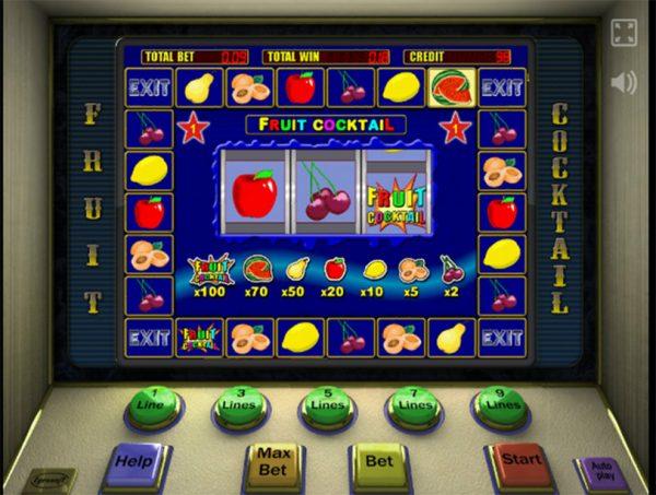 игровые автоматы играть в фрукты